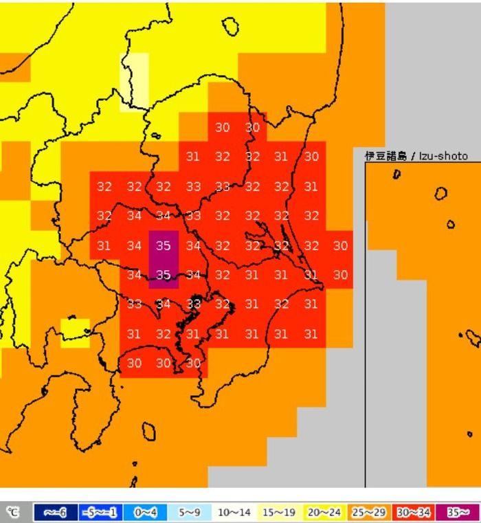 音楽・芸能 - 台風が過ぎたあと関東地方は猛暑、都心でも34℃との予報…もう10月なんだが?