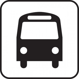 map_symbols_bus_clip_art_17107