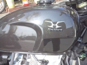 mini125(黒)タンク