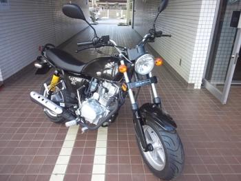 mini125(黒)前斜
