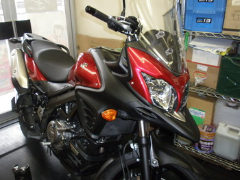 Vストローム650ABS-after