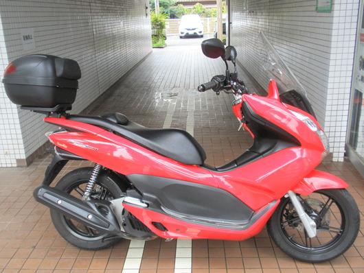 157PCX150(赤)右