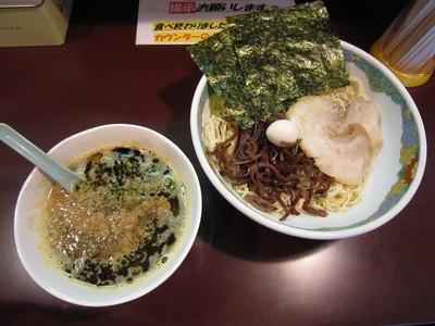 麺の心 ピリ辛焦がしニンニク味噌つけ麺