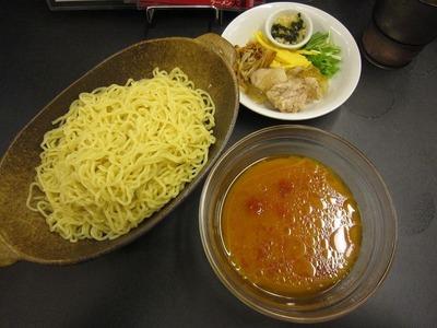 大至 冷やしつけ麺 赤(トマト&唐辛子)