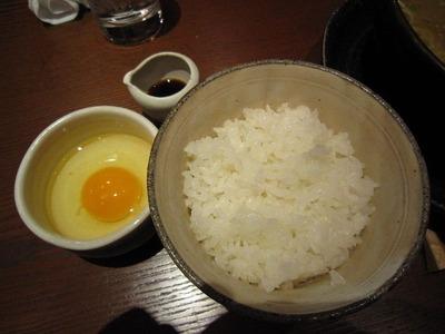 炬屋 銀シャリ・比内地鶏の卵