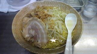 覆麺   赤貝10kgの塩ラーメン