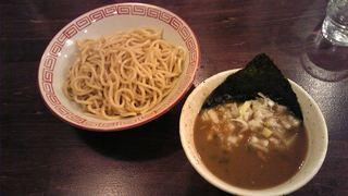 なおじ   つけ麺(少なめ)