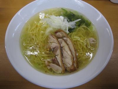 富白 鶏塩拉麺