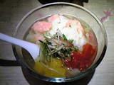 麺屋武蔵 江戸きん   冷しら〜麺 彩り金魚