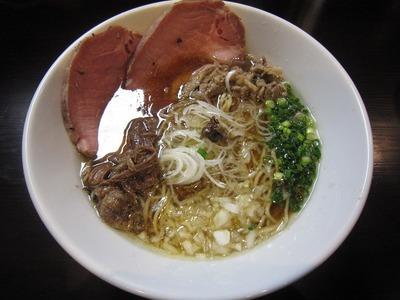 嵐風 牛醤油チャーシュー麺