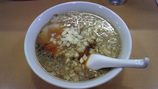 勝丸   中太背脂麺