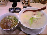 七彩   鷄白湯つけ麺セット