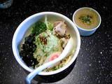 西早稲田 北狼   緑 冷たいあえ麺