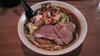濃菜麺 井の庄   辛辛濃菜麺