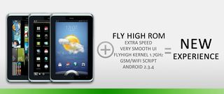 HTC Flyer + FlyHigh ROM 1.2