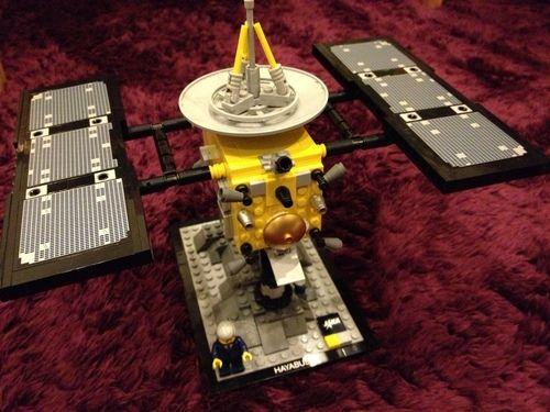 Legoの「はやぶさ」を作ってみた。