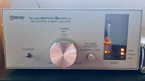 ラックスマンのFMチューナー LXV-OT8 を作った