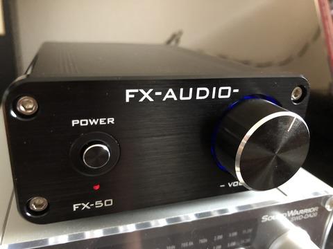 FX-AUDIO- FX-50 を買った