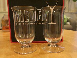 Riedelのシングルモルト専用グラスを貰った。