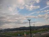 午後の空(あるショッピングセンターから)
