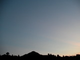 午後6時38分の空