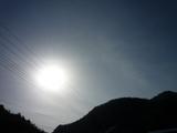 2009年2月22日午前9時10分の東の空