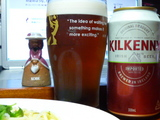 キルケニービールで乾杯
