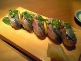 5.さんまの握り寿司