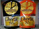 「チーザ」チェダーチーズ味カマンベールチーズ味