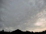 南の空(18時15分)
