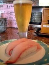 ビールとふくらぎ