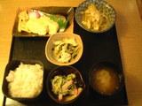 初めて食べた日替わり定食( ゚Д゚)ウマー
