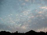 午後5時14分の南の空