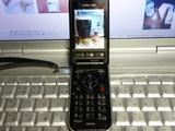 3年8か月前に購入した「大人ケータイDOLCE SH851i」