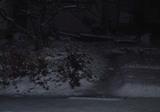 今日の積雪その2。昨日とあまり変わりない