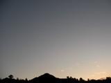 16時45分の南の空