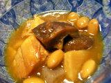 「鶏肉と大豆のカレー煮」