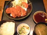 3,ヒレカツ定食