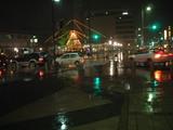 雪のない小松駅