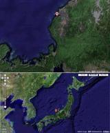 Google Mapsで見た自分の居場所