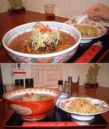 坦々麺セット&フカヒレスープ麺セット