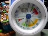 午後7時27分の温湿度