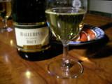 スパーリングワインで年越し