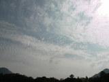 9月17日午後2時23分の空