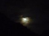 満月(午後8時32分東の空)