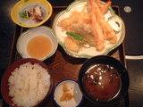 7.海鮮天ぷら定食