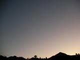 宵の明星がみえる(17時03分の空)