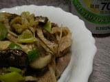 茸のマヨネーズ炒め