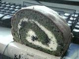 神戸「ボックサン」の抹茶ロールケーキ