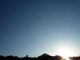 暮れかけの太陽09.01.28 16.27